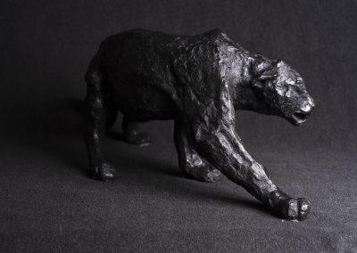 panthère 3/4 profil droit - bronze original