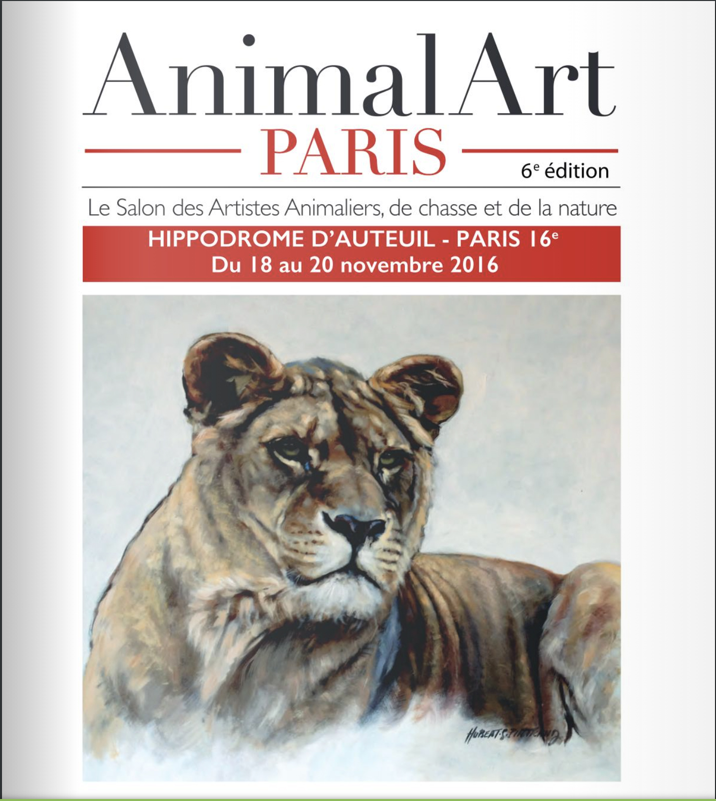 6e salon Animal art - Paris 2016
