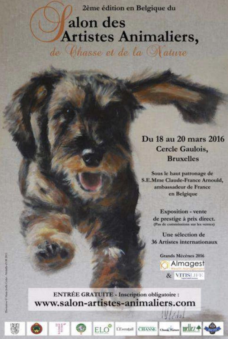 Salon des artistes animaliers - Bruxelles 2016