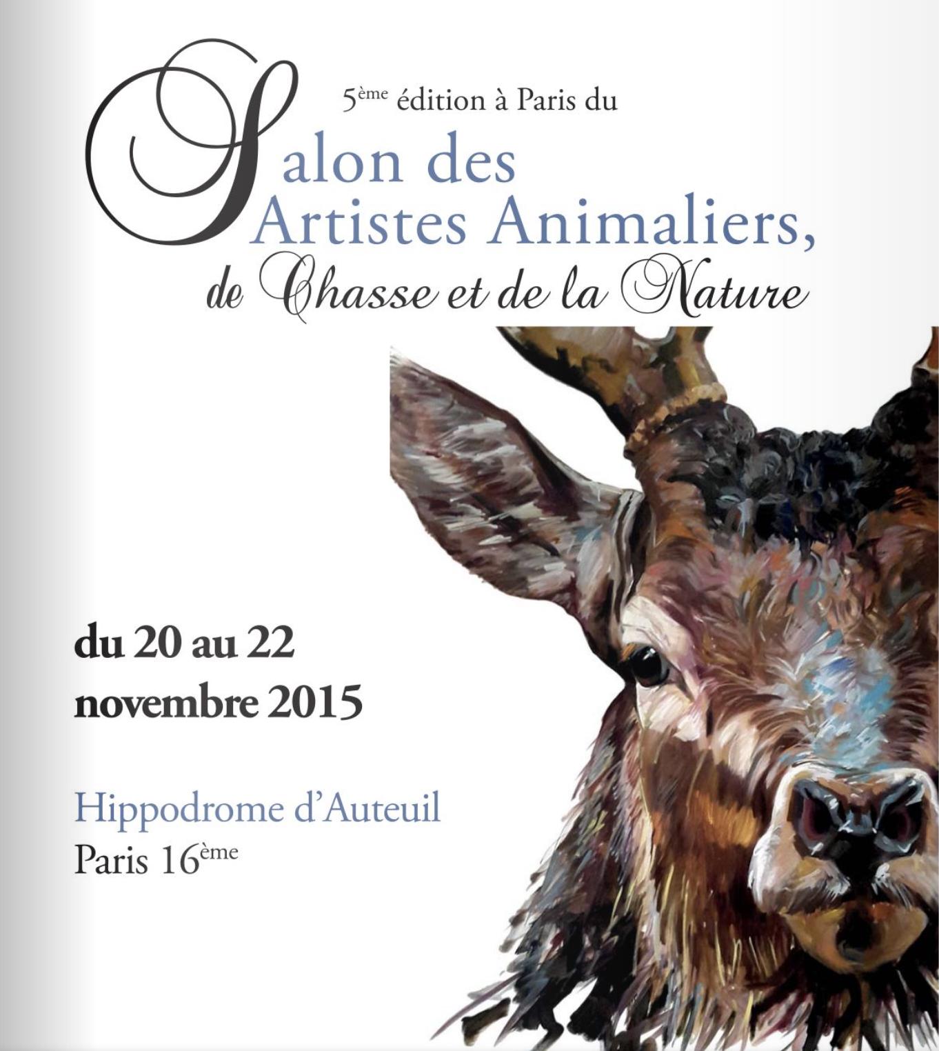 Salon des artistes animaliers Paris 2015