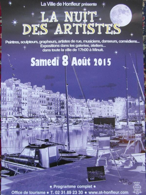 La nuit des artistes - Honfleur 2015