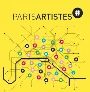 logo de l'exposition Paris artistes 2015