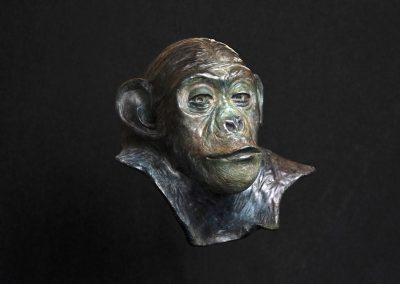 philosophe, 3/4 face droit - bronze original